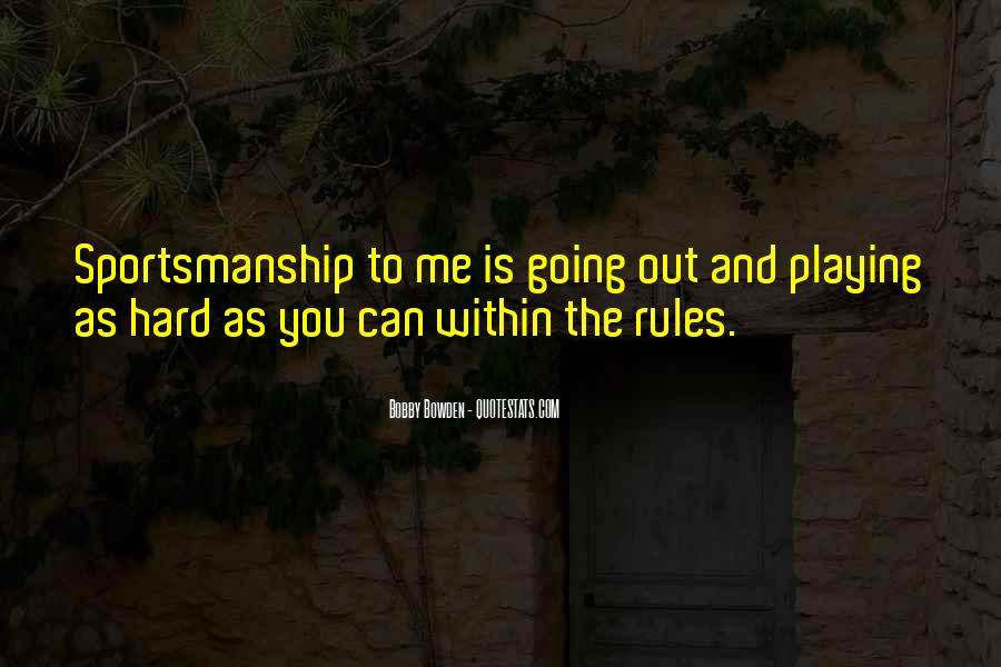 Bobby Bowden Quotes #117575
