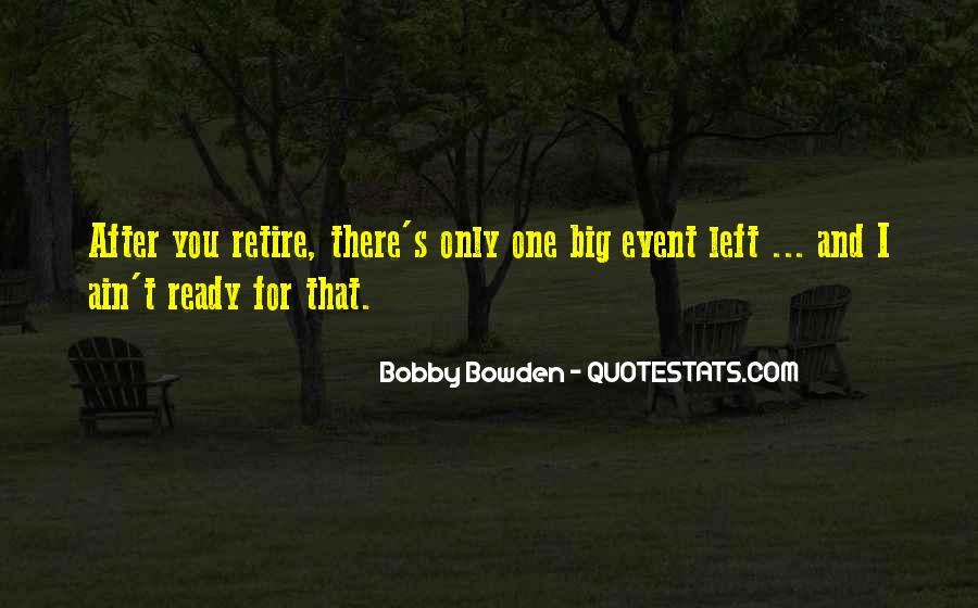 Bobby Bowden Quotes #1439787