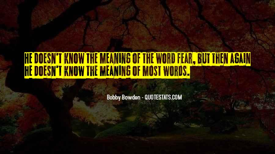 Bobby Bowden Quotes #1698795