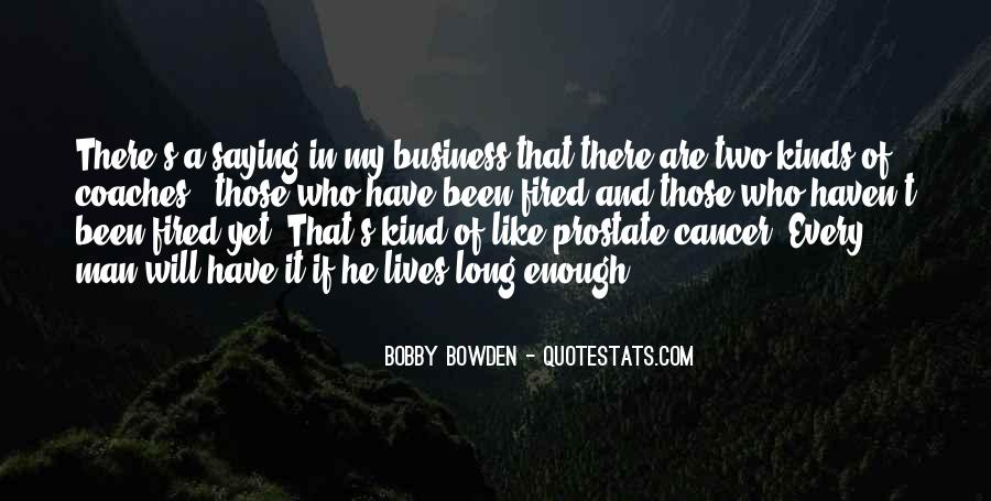 Bobby Bowden Quotes #176070