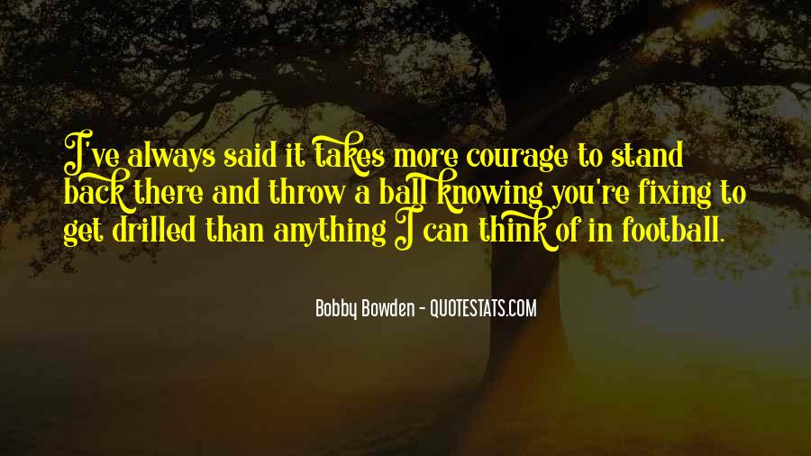 Bobby Bowden Quotes #2515