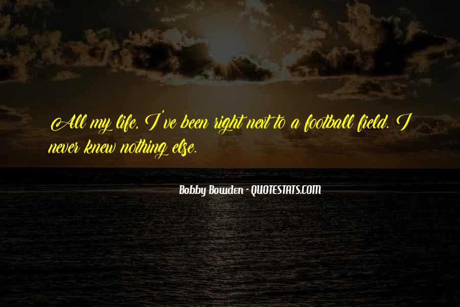 Bobby Bowden Quotes #513417