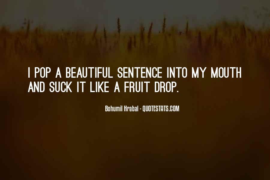 Bohumil Hrabal Quotes #1763231