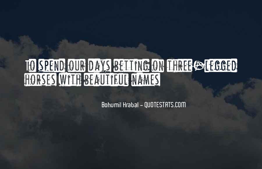 Bohumil Hrabal Quotes #1794555