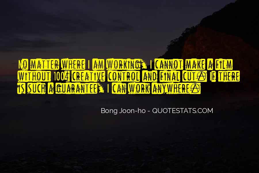 Bong Joon-ho Quotes #116884