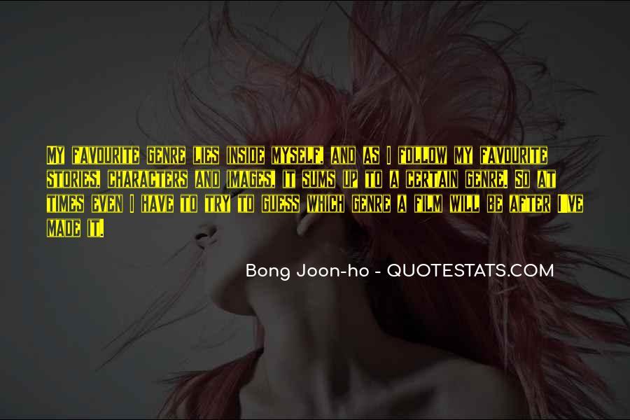 Bong Joon-ho Quotes #275254