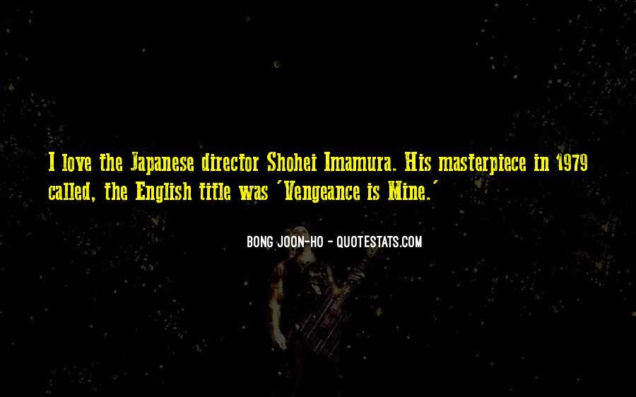 Bong Joon-ho Quotes #839972