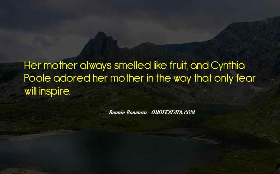 Bonnie Bowman Quotes #1276188