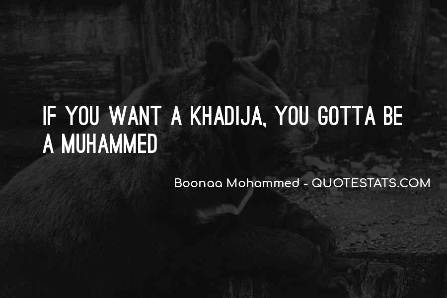 Boonaa Mohammed Quotes #451691