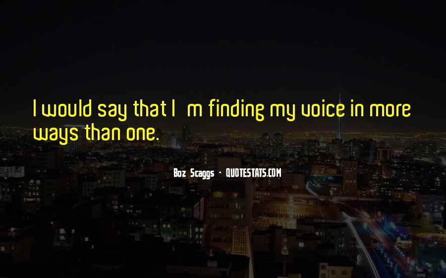 Boz Scaggs Quotes #26192