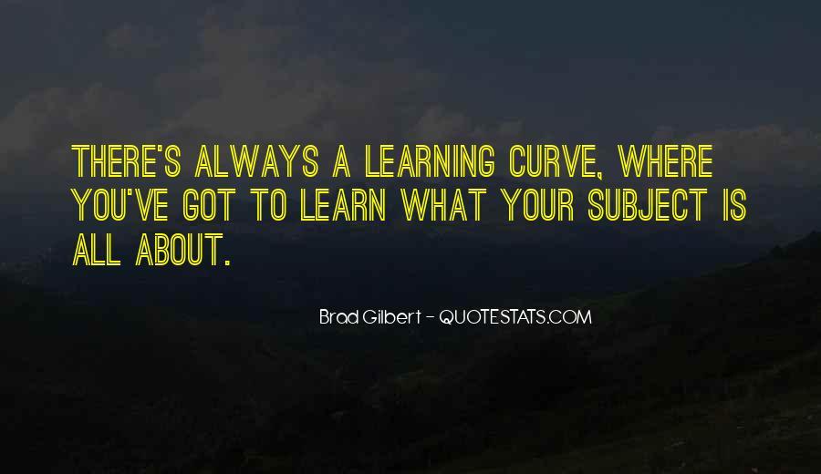 Brad Gilbert Quotes #1175535