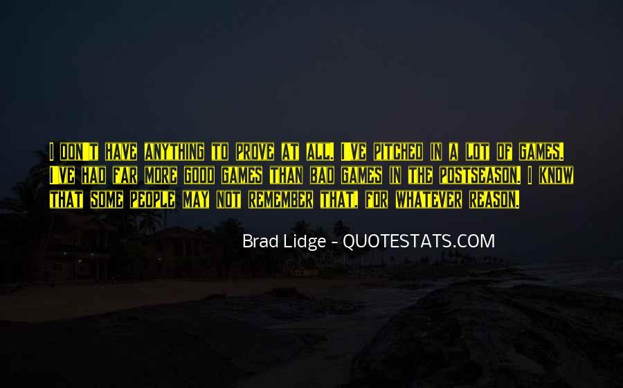 Brad Lidge Quotes #537643