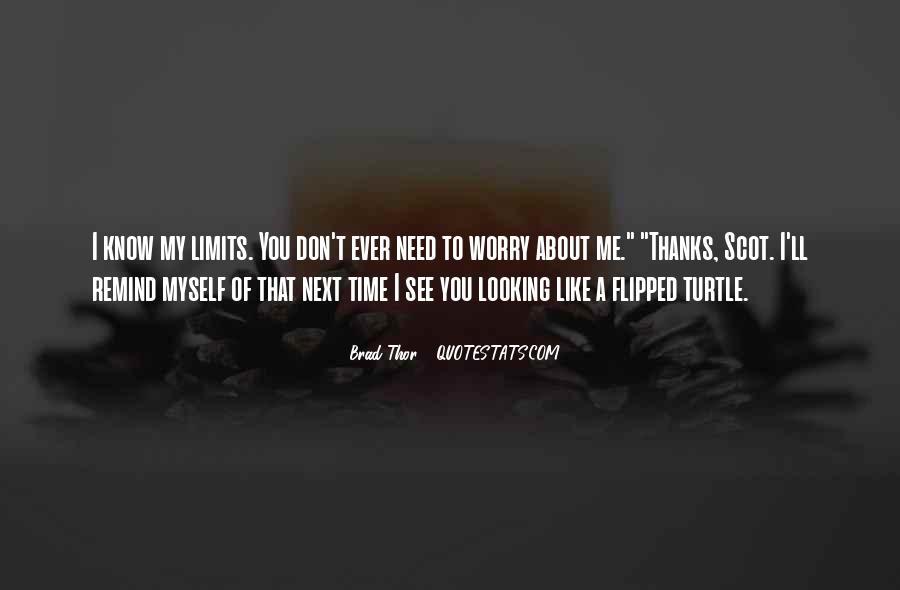 Brad Thor Quotes #1073052