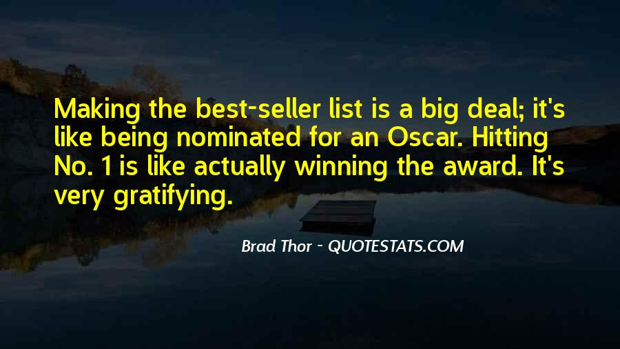 Brad Thor Quotes #1321023