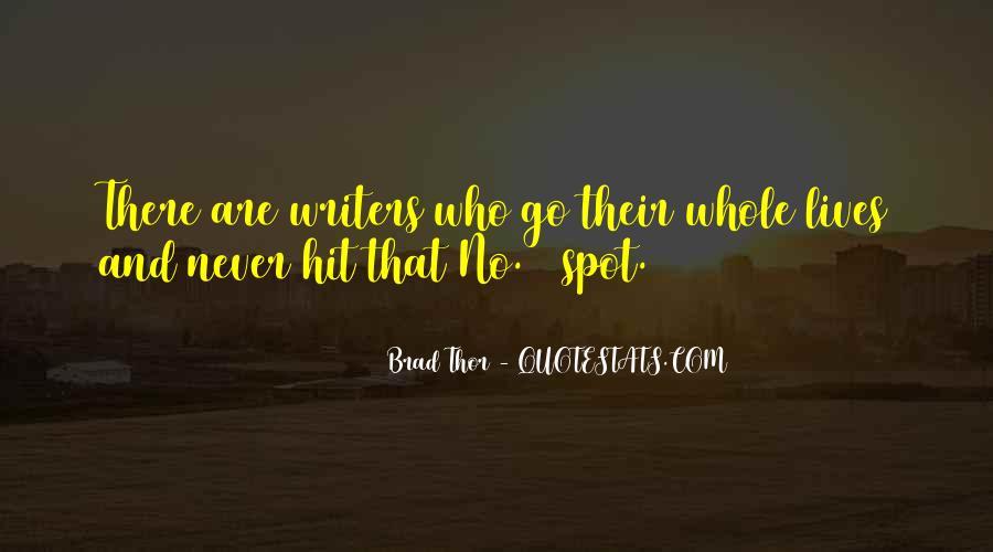 Brad Thor Quotes #1450723