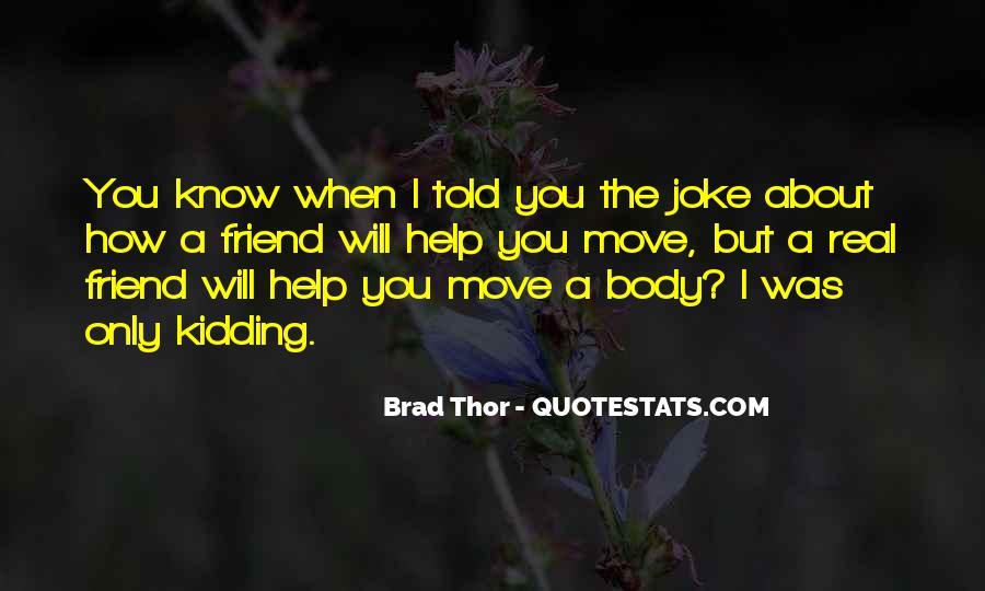 Brad Thor Quotes #1671237