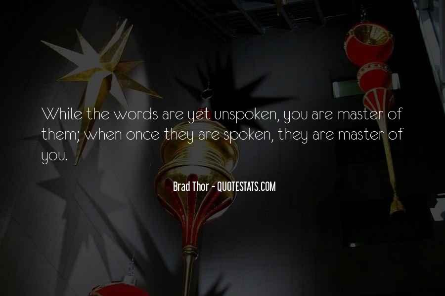 Brad Thor Quotes #1677928