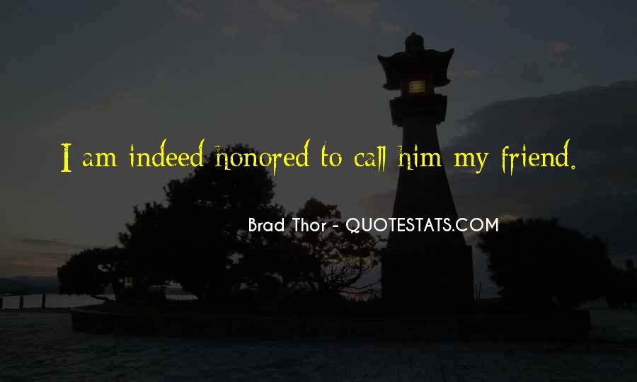 Brad Thor Quotes #1718417