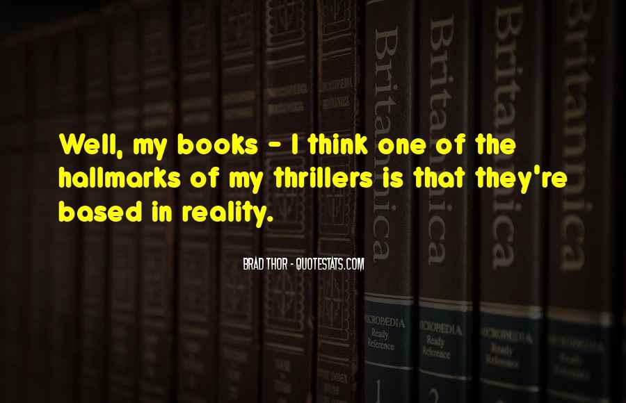 Brad Thor Quotes #180493