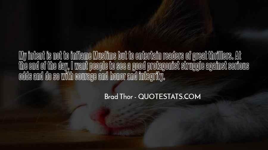 Brad Thor Quotes #406250
