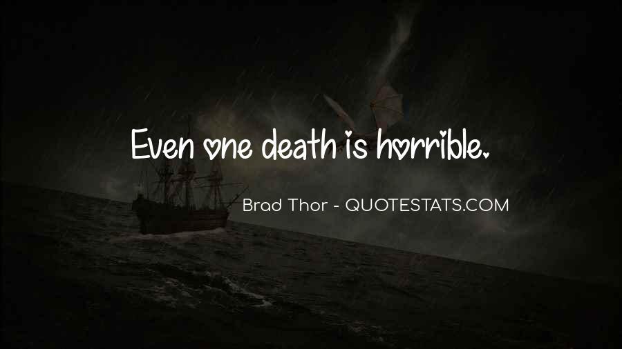 Brad Thor Quotes #426704
