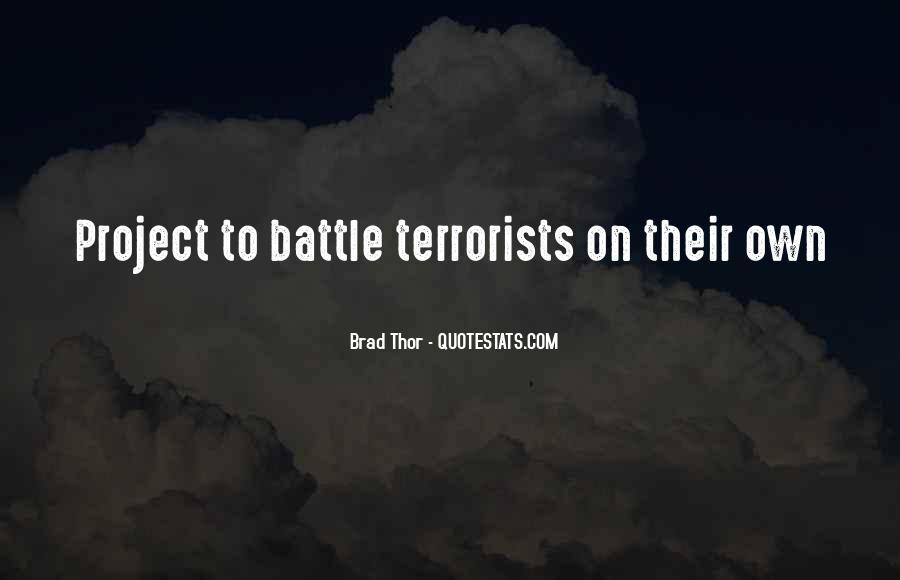 Brad Thor Quotes #553308