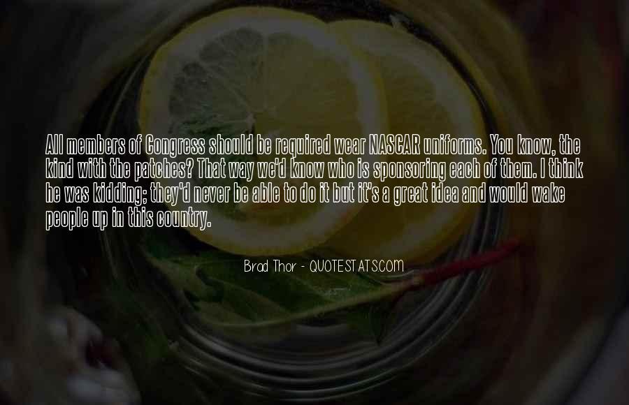 Brad Thor Quotes #660950