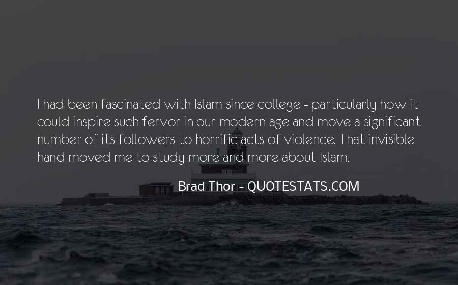 Brad Thor Quotes #787318
