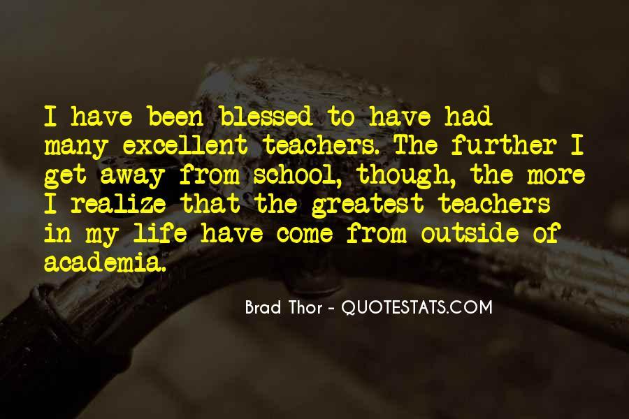 Brad Thor Quotes #999889