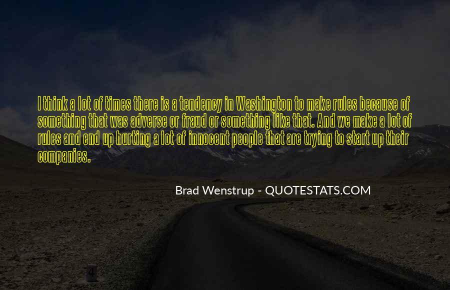 Brad Wenstrup Quotes #75101