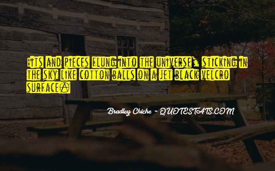 Bradley Chicho Quotes #1478517