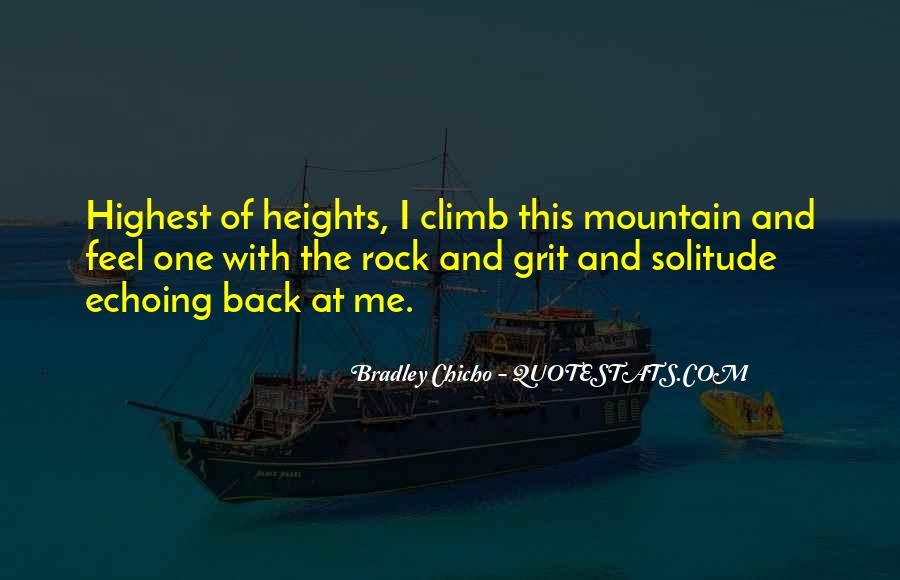 Bradley Chicho Quotes #803471