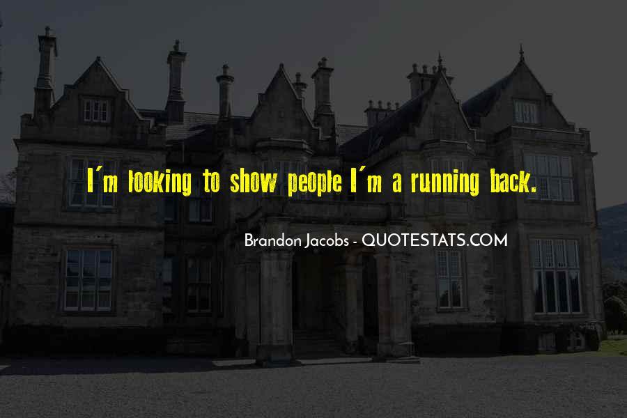 Brandon Jacobs Quotes #219848