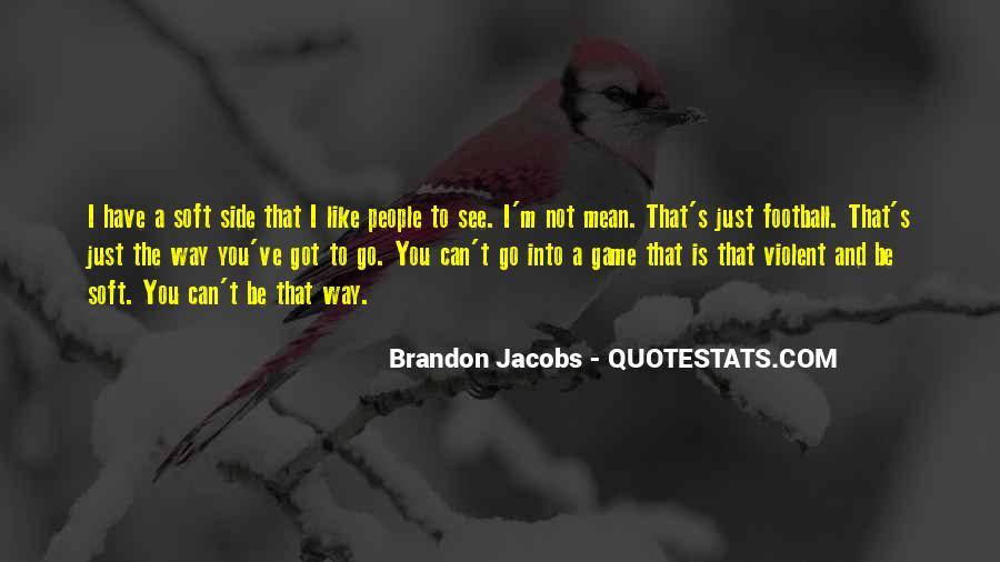 Brandon Jacobs Quotes #352868