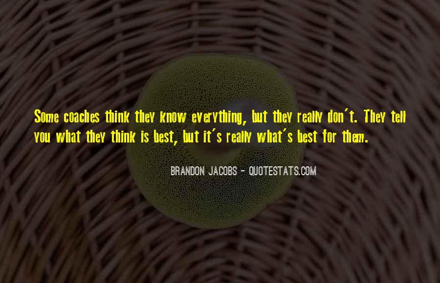 Brandon Jacobs Quotes #382490