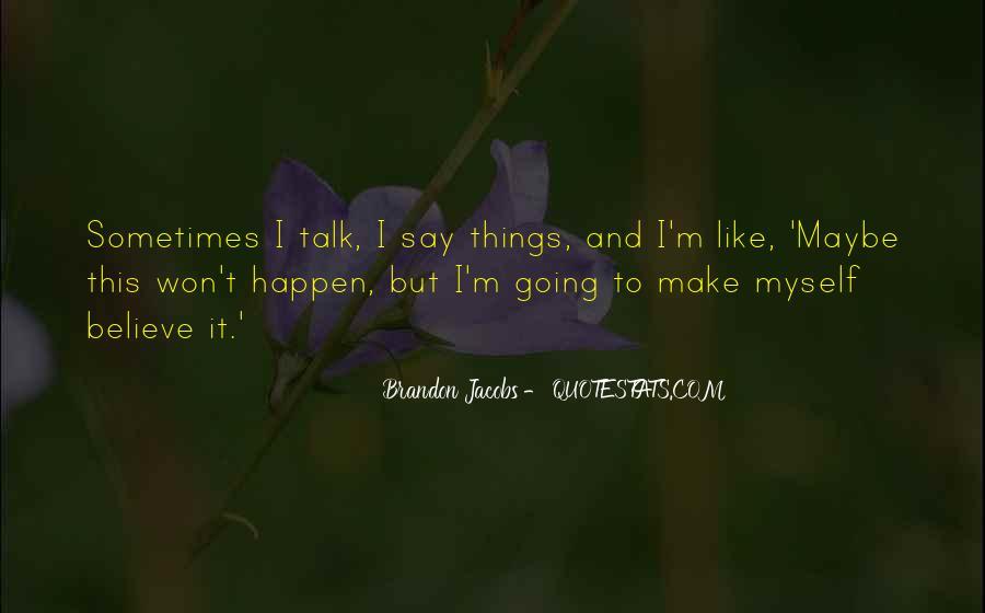 Brandon Jacobs Quotes #396686