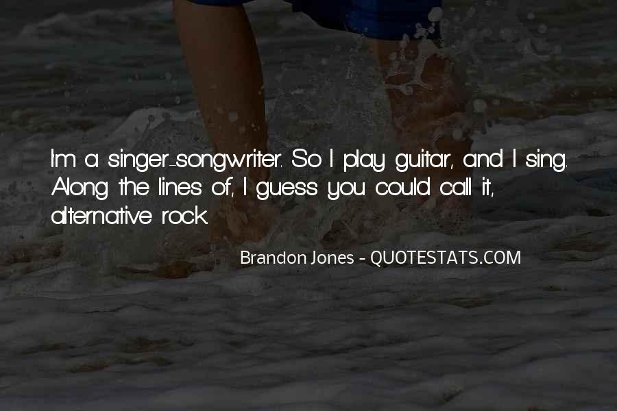 Brandon Jones Quotes #910895