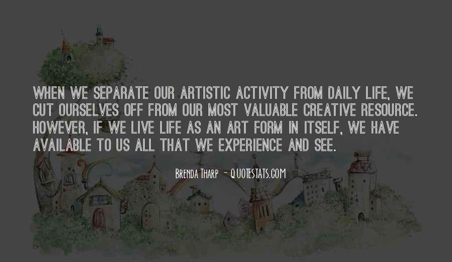 Brenda Tharp Quotes #268520
