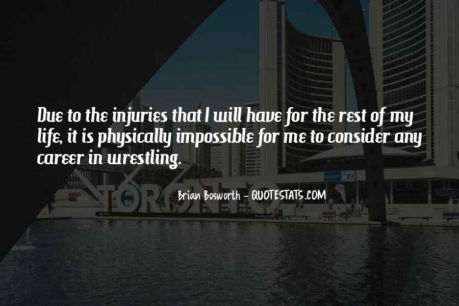 Brian Bosworth Quotes #11914