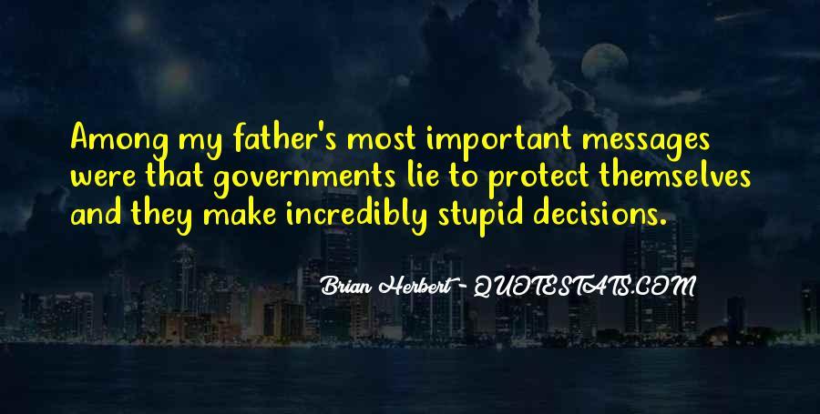 Brian Herbert Quotes #1126616