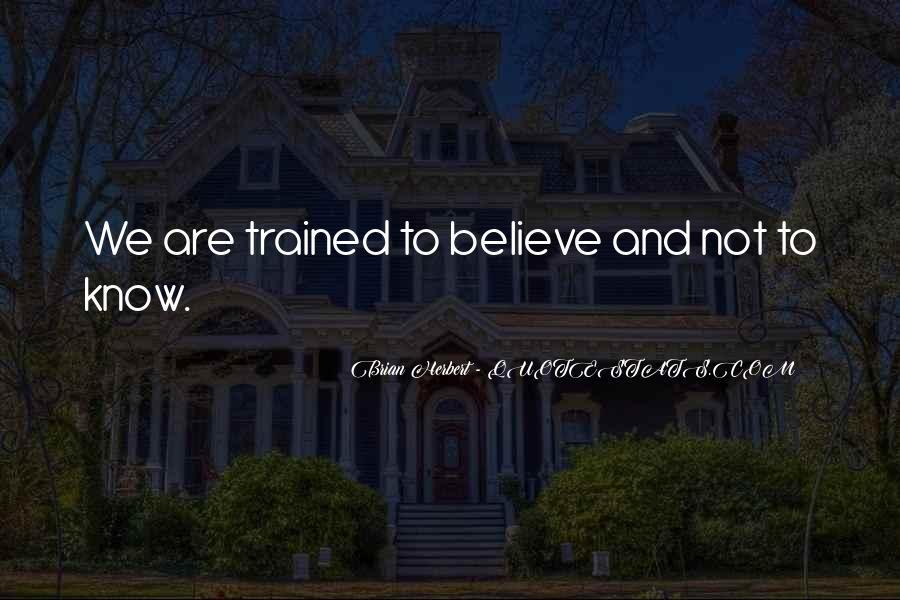 Brian Herbert Quotes #1148475