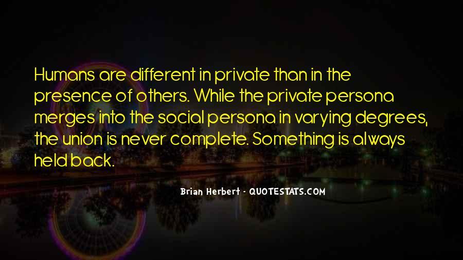 Brian Herbert Quotes #1560780