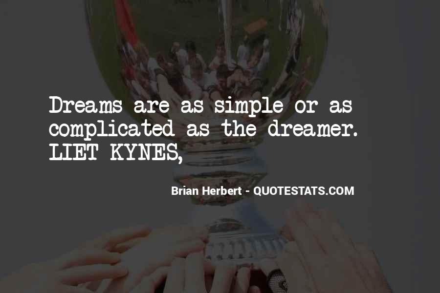 Brian Herbert Quotes #163889