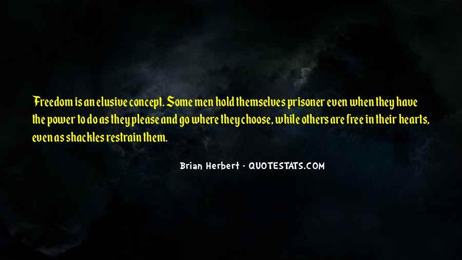 Brian Herbert Quotes #1649596