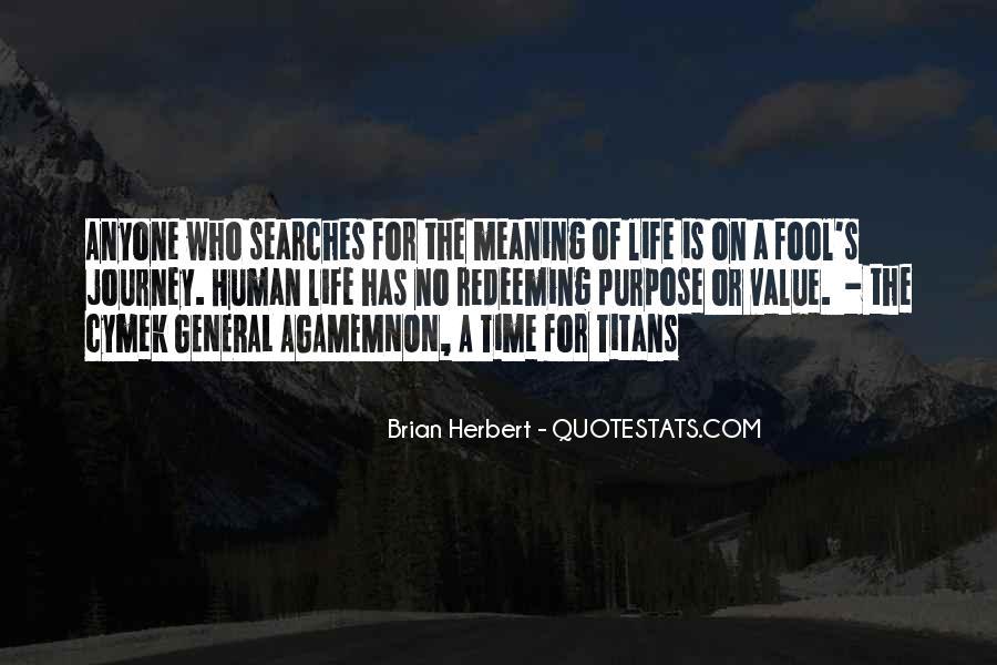 Brian Herbert Quotes #1717701
