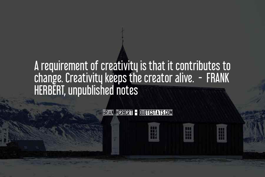 Brian Herbert Quotes #1746191