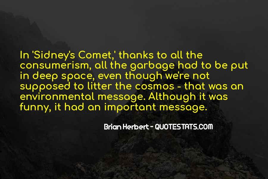Brian Herbert Quotes #1811636