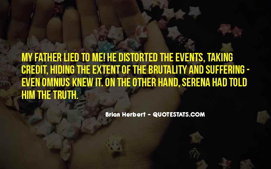 Brian Herbert Quotes #351788