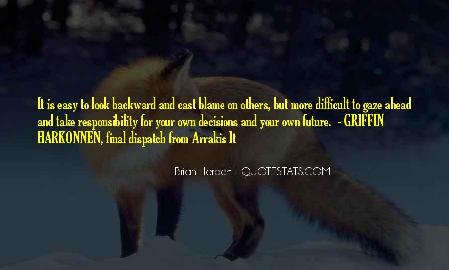 Brian Herbert Quotes #43922