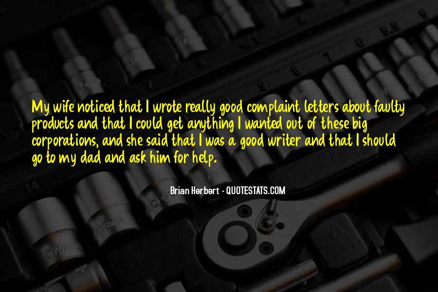 Brian Herbert Quotes #658626